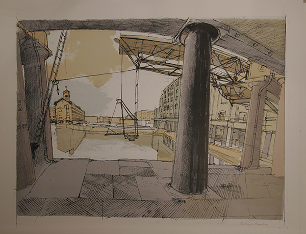 Dockyard, by Richard Bawden