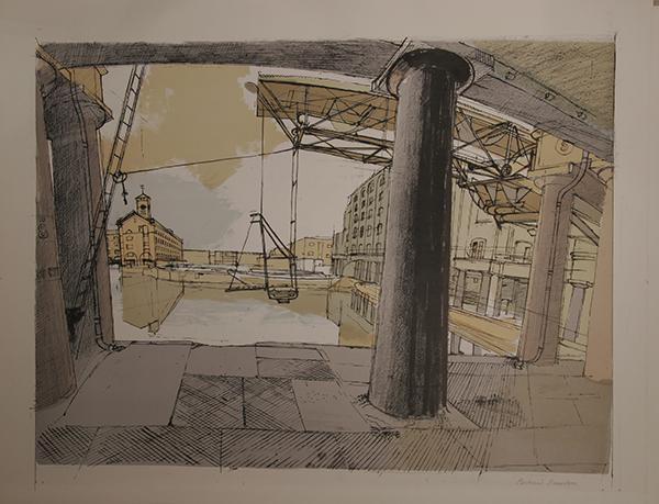 Dockyard, by Richard Bawden