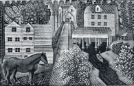 Hull's Mill, Eric Ravilious