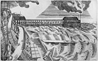 The Pier, Edward Bawden