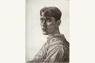 Self Portrait, Edgar Holloway