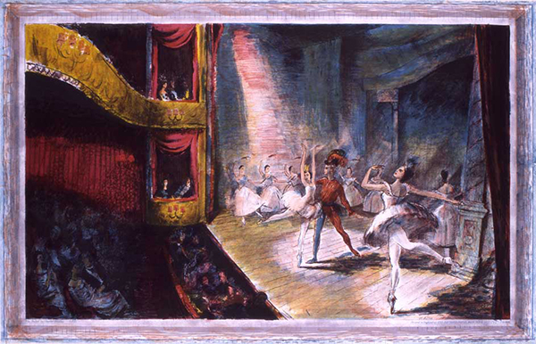 The Ballet, by Charles Mozley