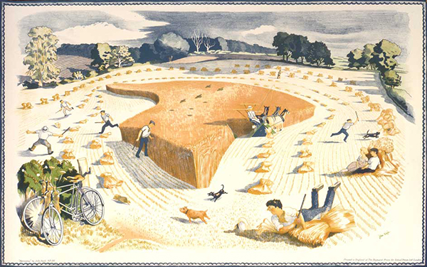 Harvesting, by John Nash