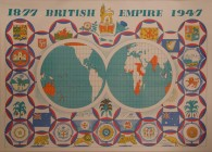 The British Empire 1877-1947, by Edward Bawden