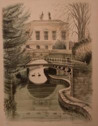 House and Bridge, by David Gentleman