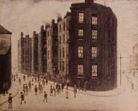 Dwellings, by LS Lowry