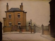 he Old House, by LS Lowry